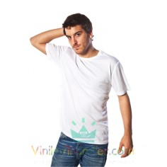 CAMISETA SUBLIMABLE UNISEX CON TACTO ALGODÓN