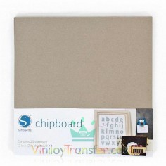CHIPBOARD SILHOUETTE