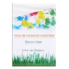 VINILO IMPRIMIBLE ADHESIVO BLANCO BRILLO Y MATE IMPRESORA LÁSER