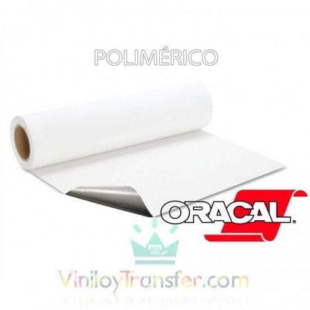 VINILO IMPRIMIBLE DE ROTULACIÓN BRILLO/MATE POLIMERICO CON TRASERA GRIS