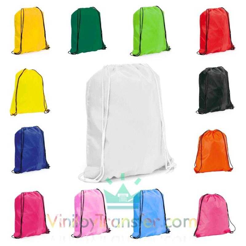 Mochila bolsa de cuerdas macuto de colores - Cuerdas de colores ...