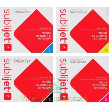 Tinta Sublijet R para Ricoh SG 3110DN y SG 7100DN