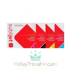 Tinta Sublijet R para Ricoh GX 7000 y GX 5050N