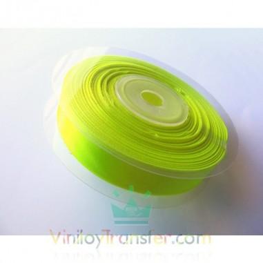 Cinta amarilla flúor sublimable para pulseras