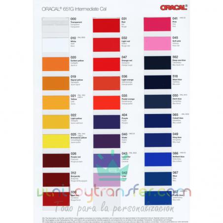 colores vinilo adhesivo