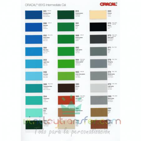 colores de vinilo para pegatinas
