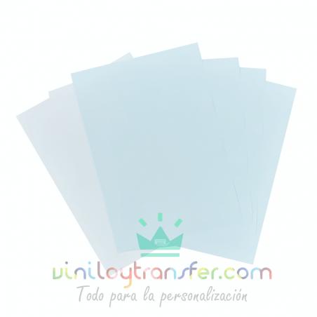 papel azul para sublimar