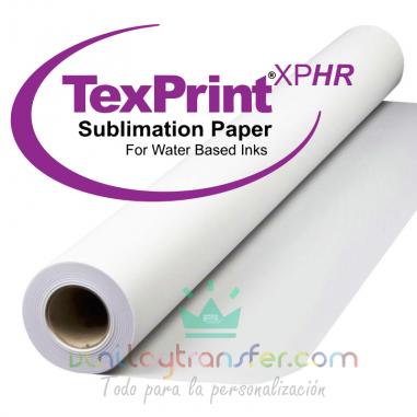 Papel para sublimación en bobina TexPrint