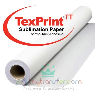 Papel para sublimación adhesivo en bobina TexPrint Supreme