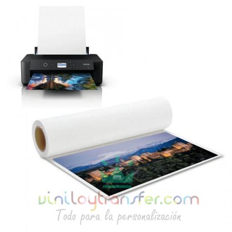 lienzo imprimible impresora inkjet de tinta