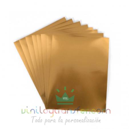 papel dorado imprimible impresora tinta