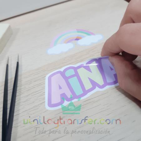 vinilo adhesivo electrostatico imprimible impresora tinta