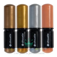 Rotuladores de colores metalizados Silhouette