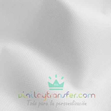 loneta impermerble para sublimar blanca