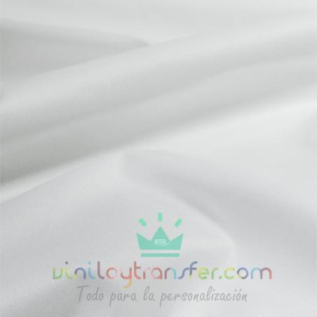 lona gruesa impermerble sublimable color blanco