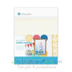 Lienzo de algodón imprimible adhesivo