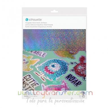 Papel holográfico imprimible