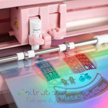 papel holografico iridiscente-adhesivo impresora
