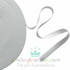 Cinta blanca de 1 mm de espesor para pulseras y lanyards de sublimación
