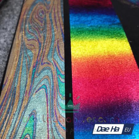 vinilo textil de corte metalizado fino