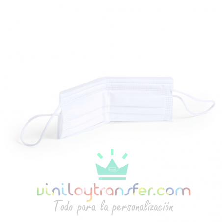Portamascarillas plegable bolsillo plástico