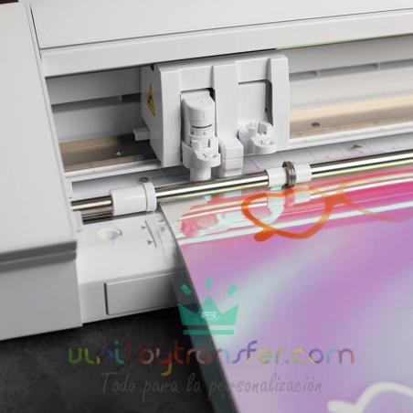 papel iridiscente adhesivo impresora inkjet tinta