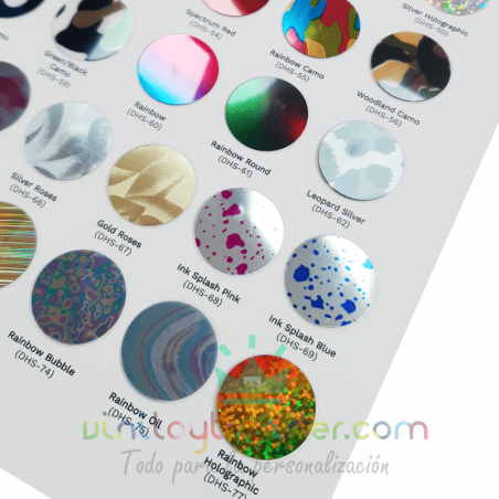 catalogo color vinilo textil premium stretch metallic daeha