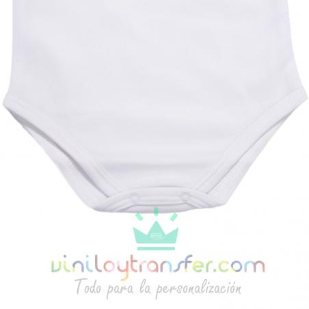 body bebé sublimable tacto algodón