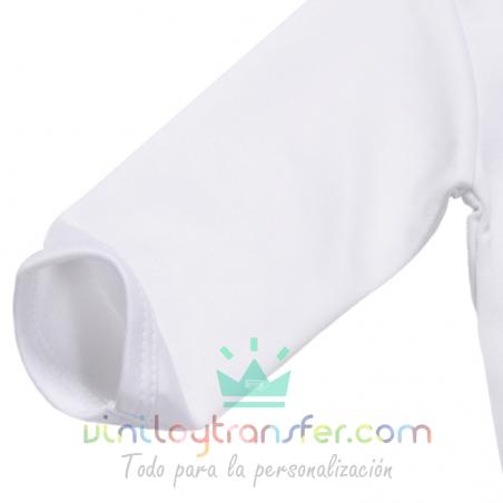 body infantil sublimar tacto algodón manga larga