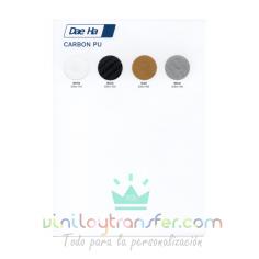 Carta de colores para Vinilo textil Daeha Carbono